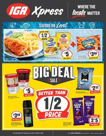 IGA Xpress Catalogue - 24.2.2021 - 2.3.2021.